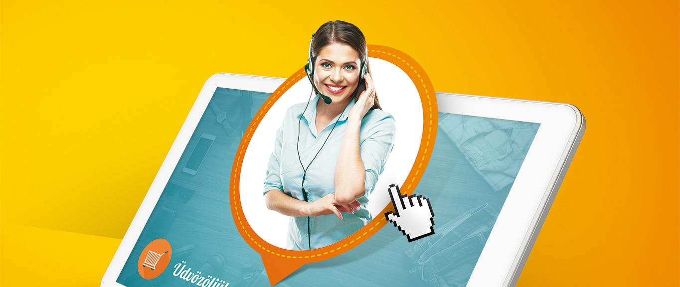 webes hívógomb webáruház marketing