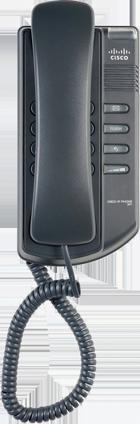 fekete cisco telefon